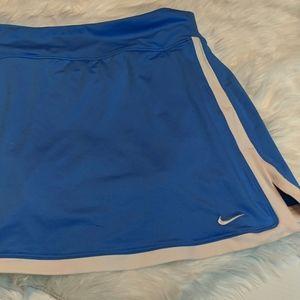 XL NIKE Dri-Fit Blue Tennis Skirt